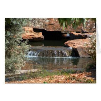 Cartão Cachoeira urbana