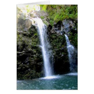 Cartão Cachoeiras de Maui