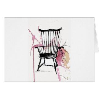 Cartão Cadeira de Windsor