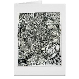Cartão Cadeira elétrica, por Brian Benson