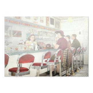 Cartão Café - o lugar frequentado local 1941