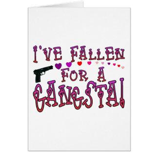 Cartão Caído para Gangsta