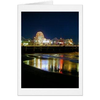 Cartão Cais de Santa Monica, Los Angeles