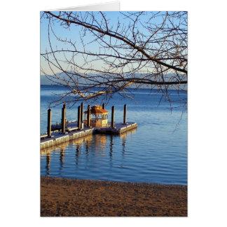 Cartão Cais II de Lake Tahoe