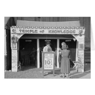 Cartão Caixa de fortuna do carnaval, 1938