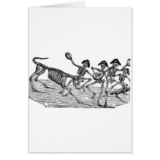 Cartão Calaveras no corredor dos touros C. 1800's