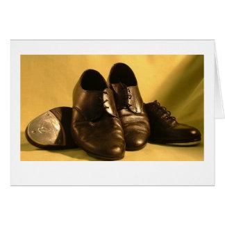 Cartão Calçados da dança
