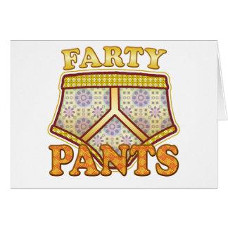 Cartão Calças de Farty