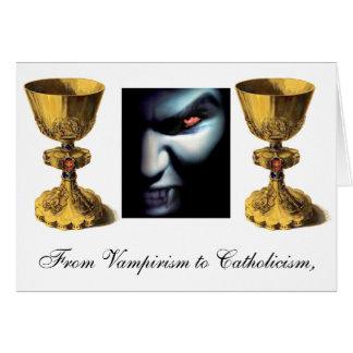 Cartão cálice, cálice, vampiro, do Vampirism ao Ca…