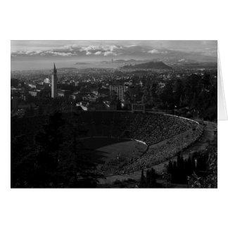 Cartão California Memorial Stadium, Uc Berkeley