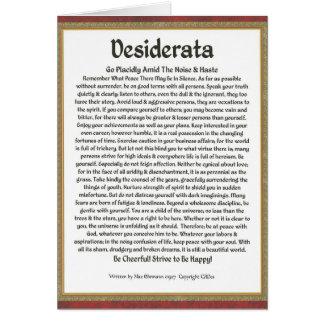 Cartão Caligrafia Ehrmann-Medieval máxima do poema dos