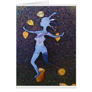 Cartão Calipso da dança