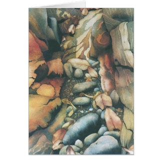 Cartão Cama de angra seca