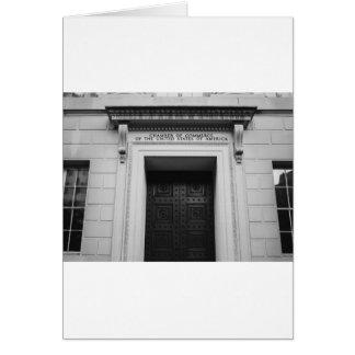 Cartão Câmara de comércio