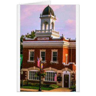 Cartão Câmara municipal