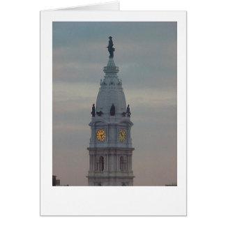 Cartão Câmara municipal de Philadelphfia