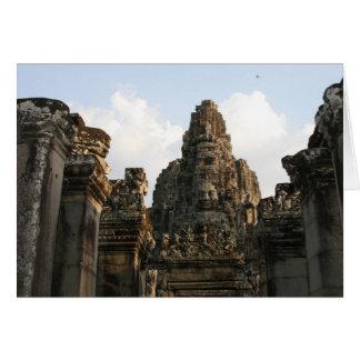 Cartão cambo de Angkor Thom