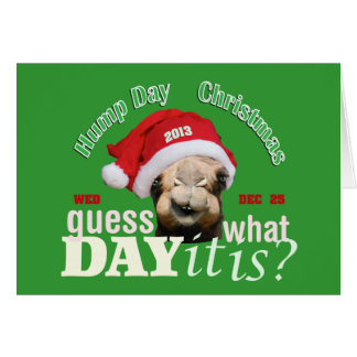Cartão Camelo do Natal