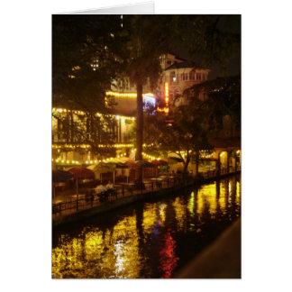 Cartão Caminhada do rio de San Antonio