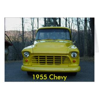 Cartão Caminhão 1955 de Chevy