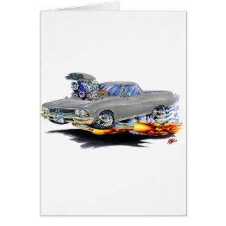 Cartão Caminhão 1966 do cinza do EL Camino