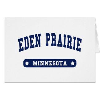 Cartão Camisetas do estilo da faculdade de Minnesota da
