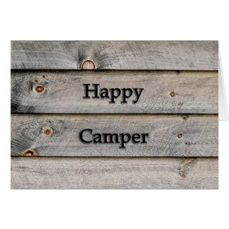 Cartão Campista feliz