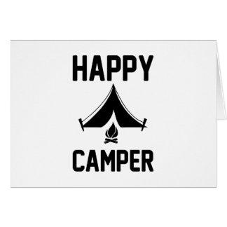 Cartão Campistas felizes
