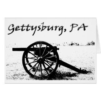 Cartão Campo de batalha de Gettysburg