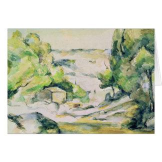 Cartão Campo em Provence