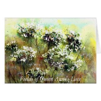 Cartão Campos da rainha Anne…