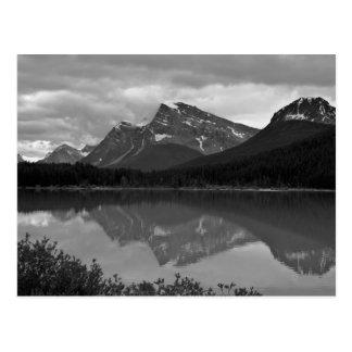 Cartão canadense do lago