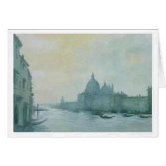 Cartão Canal grande Veneza