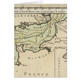 Cartão Canal inglês