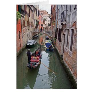 Cartão Canal Venetian - 2