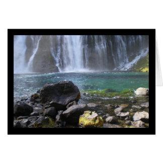 Cartão Canção da associação da cachoeira do solenóide.