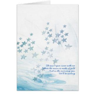 Cartão Canção do mar