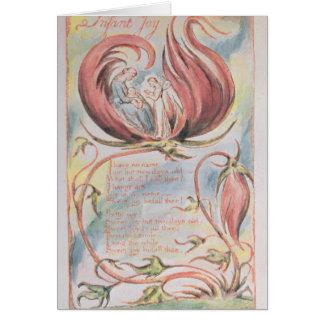 Cartão Canções da inocência; Alegria infantil, 1789