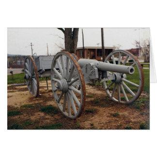 Cartão Canhão grande da guerra civil de John