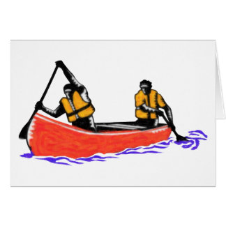 Cartão Canoa