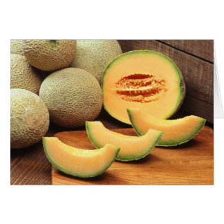 Cartão Cantaloupes
