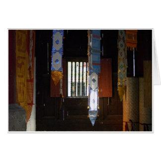 Cartão Canto do templo