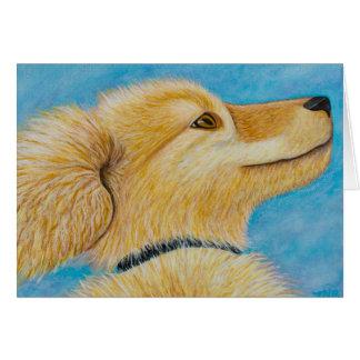 Cartão Cão feliz