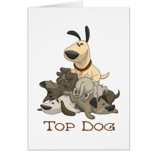 Cartão Cão superior