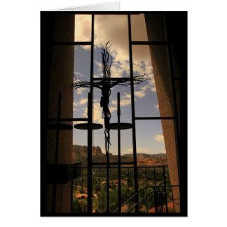 Cartão Capela da cruz santamente