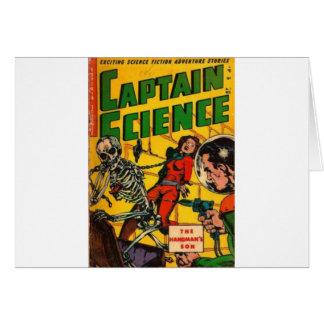 Cartão Capitão Ciência