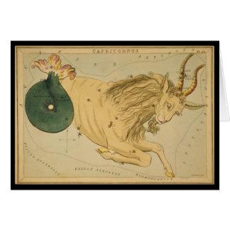 Cartão Capricornus (Capricórnio)