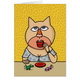 Cartão Caramelo Caroline