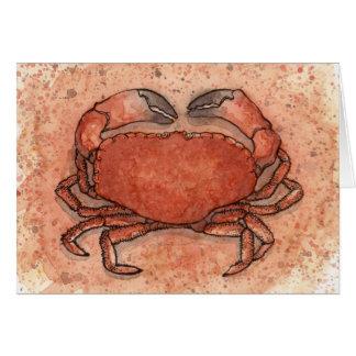Cartão Caranguejo atlântico