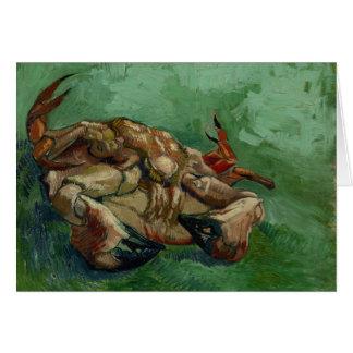 Cartão Caranguejo de Van Gogh | no seu | traseiro 1888